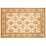 Safavieh Lyndhurst Framed Floral Lattice Rug