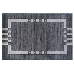 Linon Home Decor Milan Geometric Rug