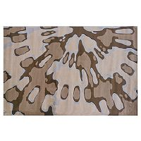 Linon Home Decor Milan Splatter Rug