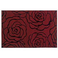Linon Home Decor Milan Floral Rug