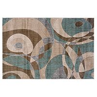 Linon Home Decor Milan Abstract Rug
