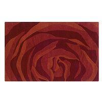Linon Home Decor Trio witha Twist Abstract Rug