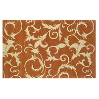 Linon Home Decor Trio with a Twist Tapestry Rug
