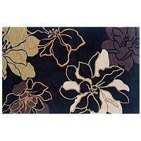 Linon Home Decor Trio Floral Rug