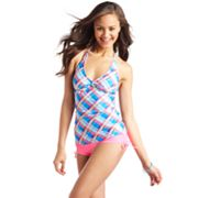 Candie's Plaid Swim Separates