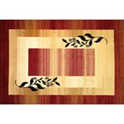 Infinity Home Dulcet Whisper Border Rug