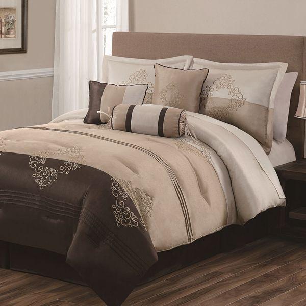crestmont 7 pc comforter set