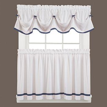 Saturday knight ltd kate tuck valance 58 39 39 x 13 39 39 - Kohls kitchen curtains ...