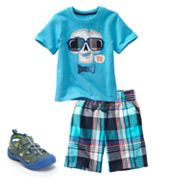 Jumping Beans Plaid Separates - Toddler