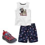 Jumping Beans Patriotic Separates - Toddler