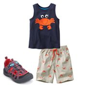 Jumping Beans Crab Separates - Toddler