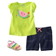 Jumping Beans Watermelon Separates - Toddler