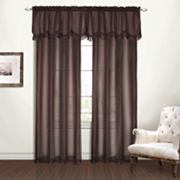 United Curtain Co. Yvonne Faux-Chiffon Window Treatments