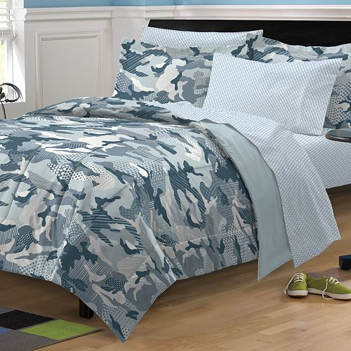 My Room Geo Camo Bed Set