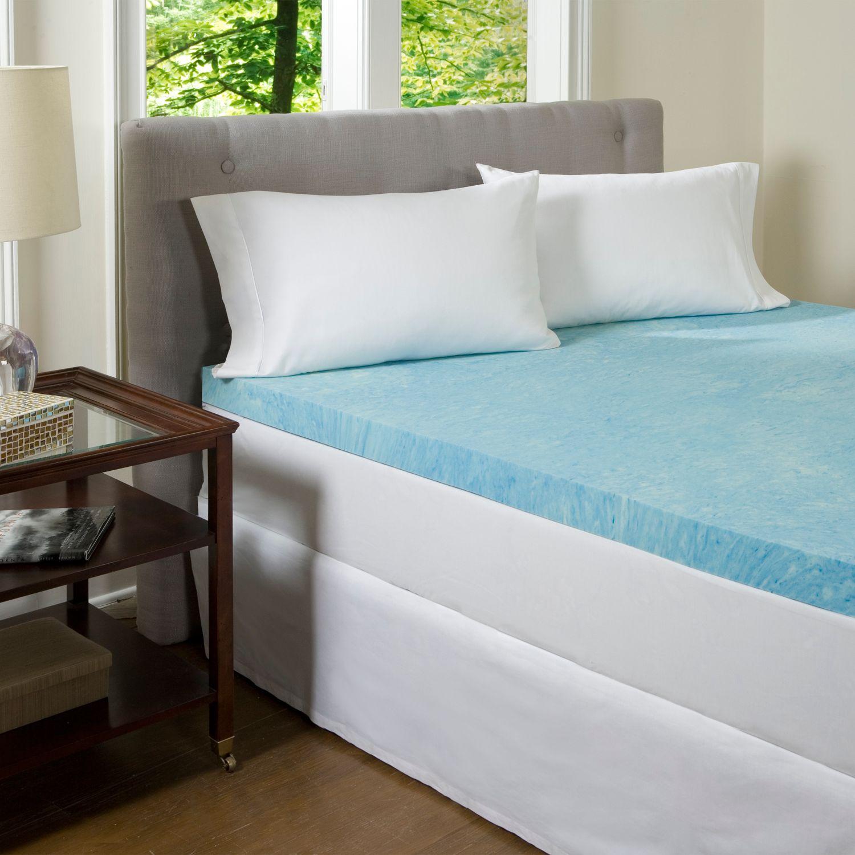 Buy ComforPedic Beautyrest 4 in. Gel Memory Foam Mattress Topper