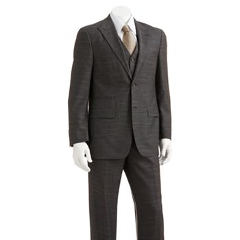 Mens dress suits clothing kohl 39 s for Van heusen studio shirts big and tall