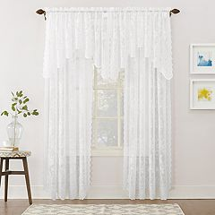 No918 Alison Floral Lace Sheer Window Treatments