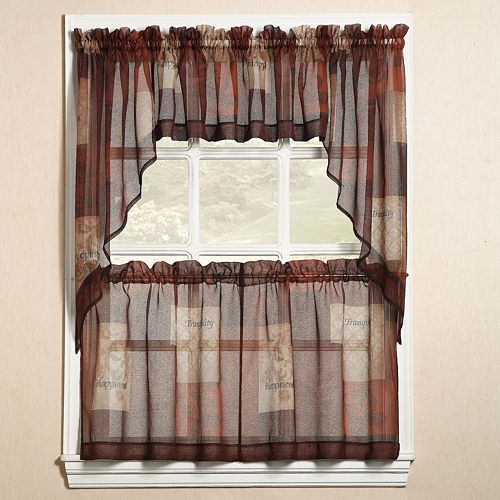by only kitchen ruffled lorraine vertical tier curtains fashions cascade home window