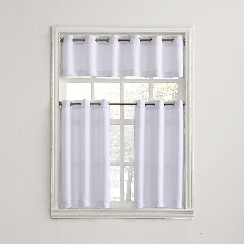 Montego Tier Kitchen Window Curtains