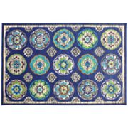 Cloverleaf Indoor Outdoor Rug
