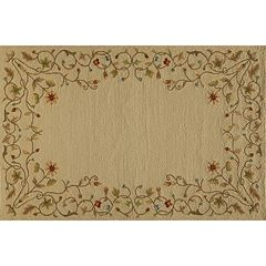 Momeni Veranda Floral Scroll Indoor Outdoor Rug