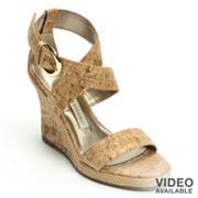 Dana Buchman Platform Wedge Sandals - Women