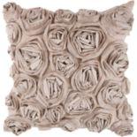 Artisan Weaver Bulle Rosette Decorative Pillow