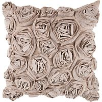 Artisan Weaver Bulle Rosette Decorative Pillow
