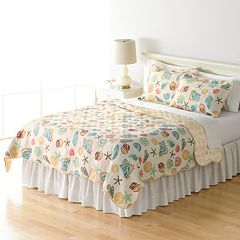 Home Classics® Sarah Ocean Medley Reversible Quilt Collection
