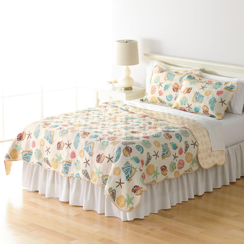 home classics sarah ocean medley reversible quilt collection