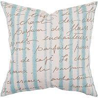 Artisan Weaver Rorschach Decorative Pillow