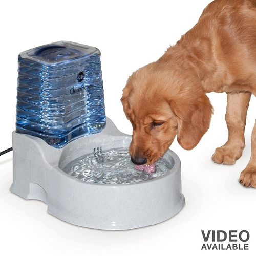 K&H Pet Clean Flow Water Dispenser with Reservoir