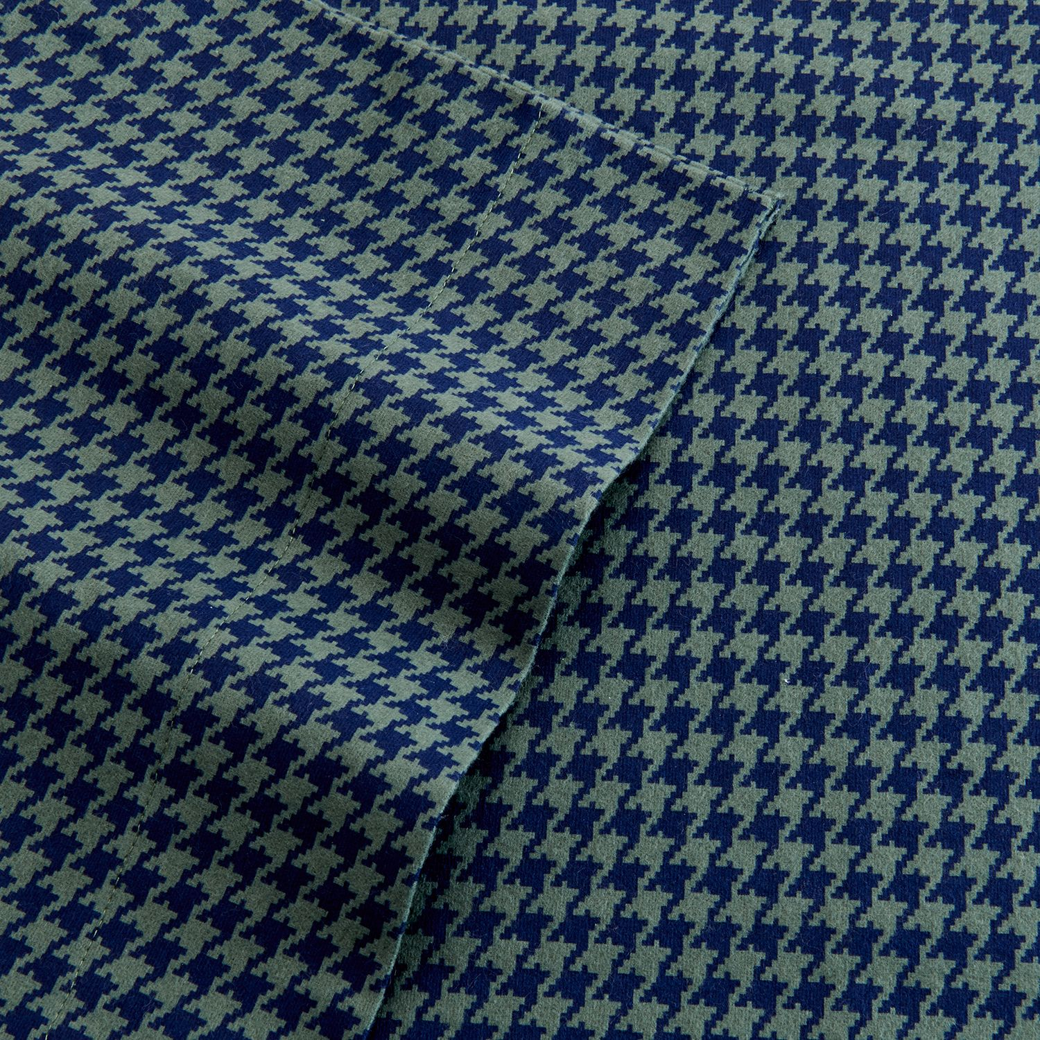 Home Classics Houndstooth Flannel Sheet Set Price Saraithc55y