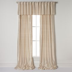 United Curtain Co. Dupioni Silk Straight Window Treatments