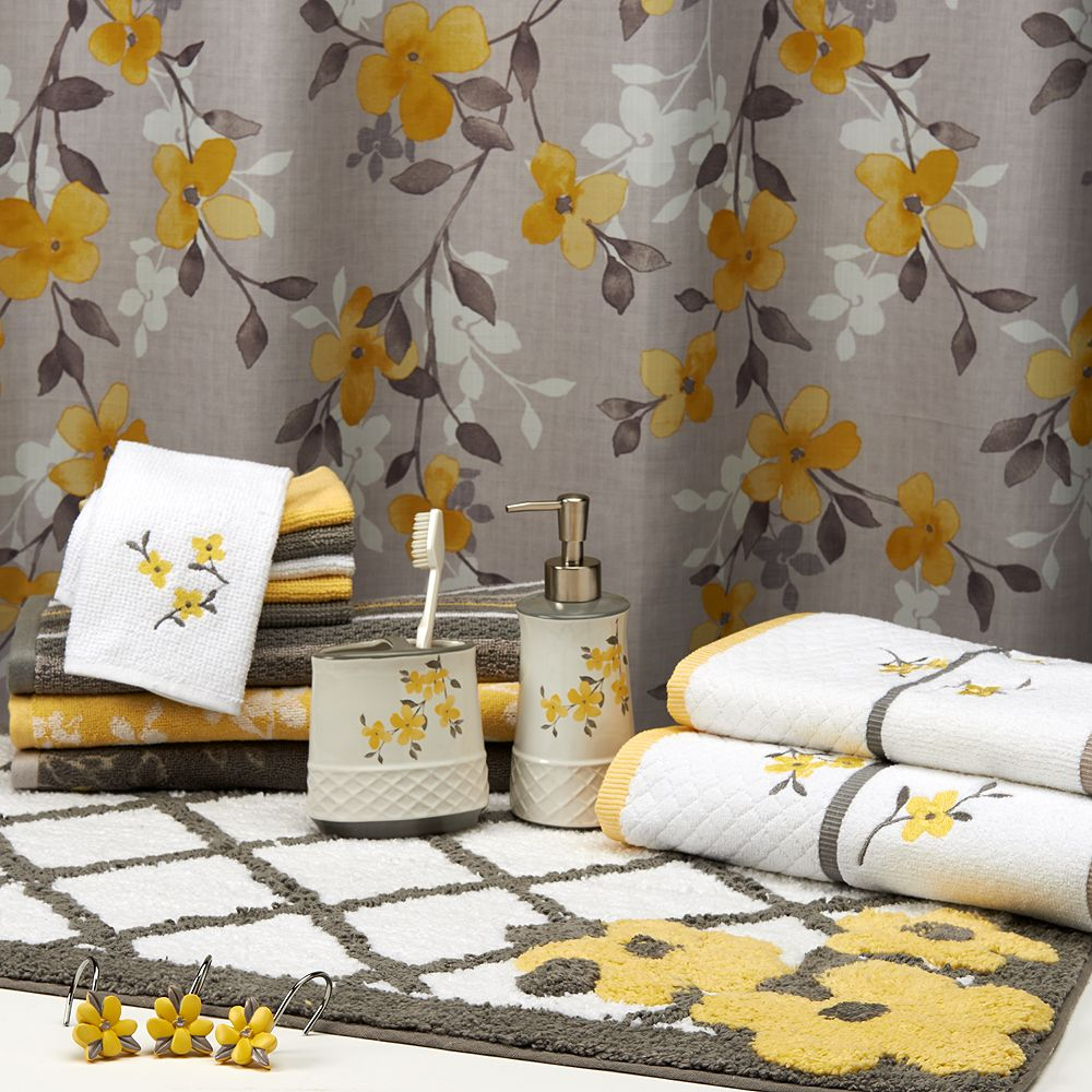 Spring Garden Bathroom Accessories Collection