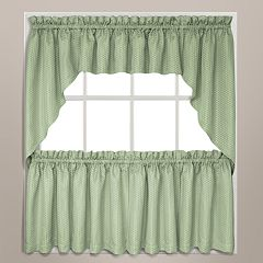 Hamden Swag Tier Kitchen Window Curtains