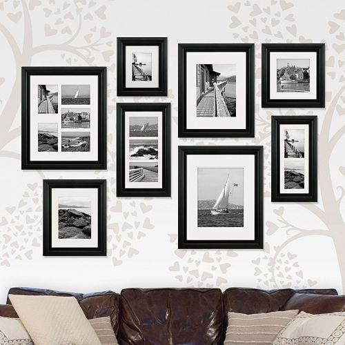 malden portrait matted gallery frames