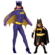 Batman & Batgirl Mommy & Me Costumes