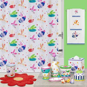 Creative Bath Cute as a Bug Bathroom Accessories Collection