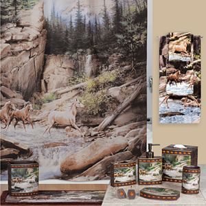 Hautman Brothers Horse Canyon Bathroom Accessories Collection