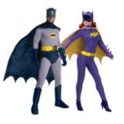 Batman Classic 1966 Series Grand Heritage Batman and Batgirl Couple Costumes