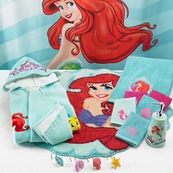 Little mermaid bathroom decor bclskeystrokes - Little mermaid bathroom ideas ...