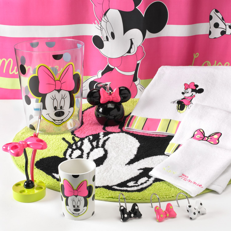 Disney Minnie Mouse Neon Bath Disney Minnie Mouse Neon Bath Accessories