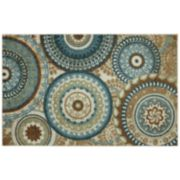 Mohawk Home Forest Suzani Medallion Indoor Outdoor Rug