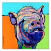 <p>''Grunt'' Canvas Wall Art by Pat Saunders-White</p>