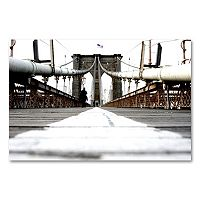 <p>''Brooklyn Bridge'' Canvas Wall Art by Yale Gurney</p>