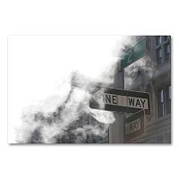 <p>''One Way'' Canvas Wall Art by Yale Gurney</p>