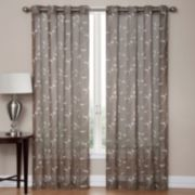 SONOMA life + style Delany Embroidered Sheer Window Panel