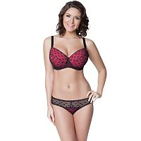 Parfait by Affinitas Kitty Lace Full-Figure Bra & Panties - Women's