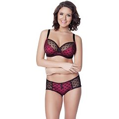 Parfait by Affinitas Kitty Lace Full-Figure Bra & Panties - Women's